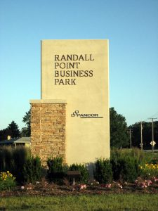 Randall Point Business Park Monument Sign