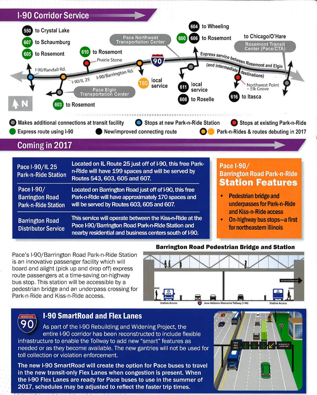 I-90 Corridor Service Coming in 2017
